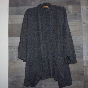 Karen Scott Women's Gray Cardigan Large